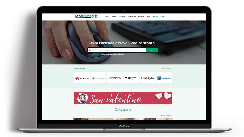 Syria Web Portfolio - DoveRisparmiare