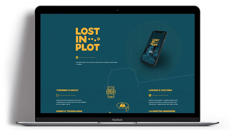 Syria Web Portfolio - Lost in Plot
