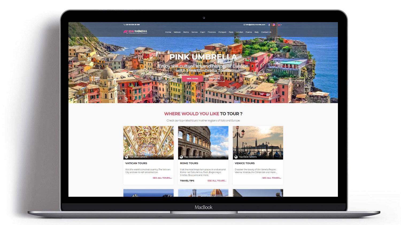 Syria Web Portfolio - Pink Umbrella Tours