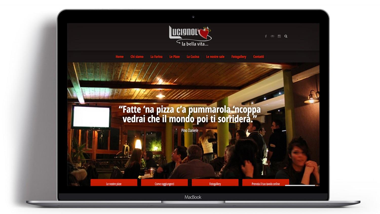 Syria Web Portfolio - Pizzeria Lucignolo