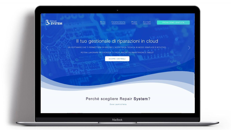 Syria Web Portfolio - Repair System
