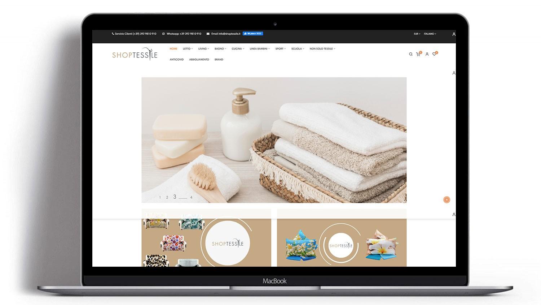Syria Web Portfolio - Shop Tessile