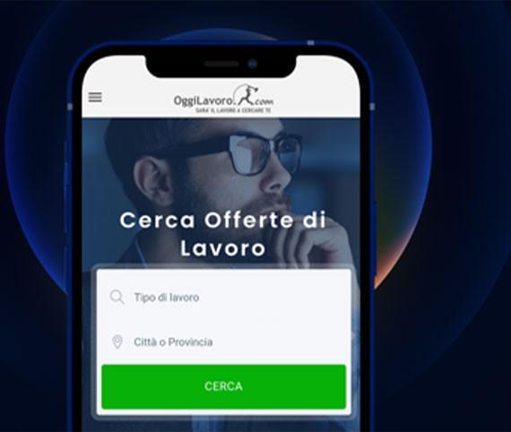 App OggiLavoro-App Mobile
