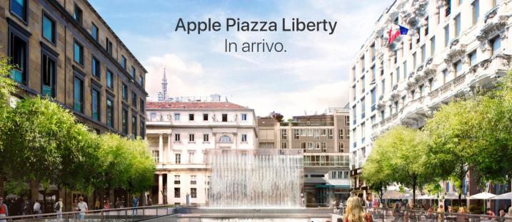 Apple, il nuovo concept store in arrivo a Milano