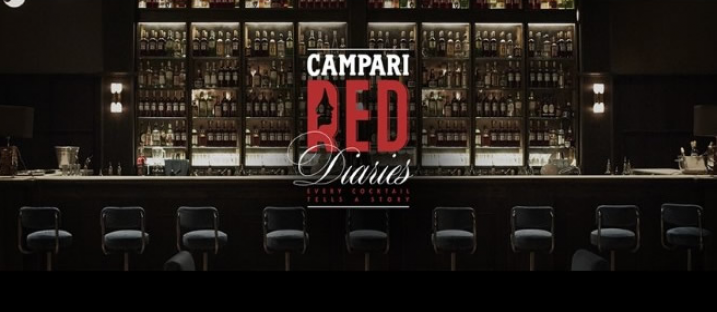 CAMPARI 'RED DIARIES' : UNA CAMPAGNA DA OSCAR